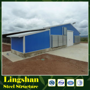 Steel Structure Broiler Poultry Farm House Design pictures & photos