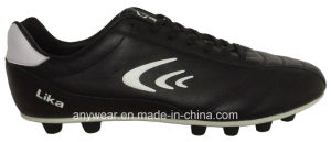 Men′s Soccer Football Boots with Kangaroo Leather Shoes (815-6514) pictures & photos