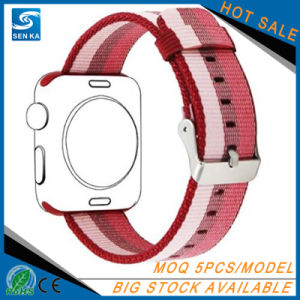 Release Royal Woven Nylon Bracelet Strap Band for Apple Watch 38/42mm pictures & photos