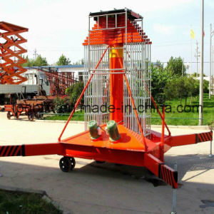 20m Elevator Telescopic Electric Hydraulic Maintance Aerial Platform pictures & photos