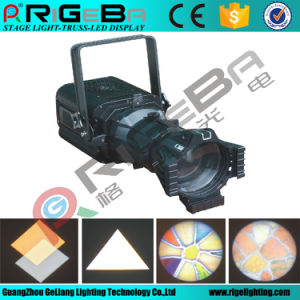 300W LED Prefocus White Color Profile Stage Light pictures & photos
