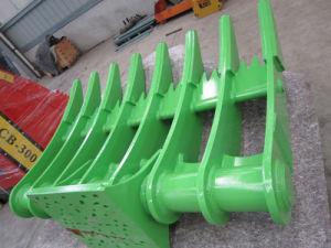 20 Tonne Excavator Parts of Excavator Rake Bucket pictures & photos