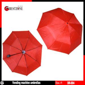 Disposable Umbrella/Vending Machine Umbrella/ Fold Umbrellas (DR-004) pictures & photos
