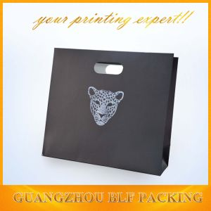 Hot Silver Logo Elegant Paper Bag pictures & photos