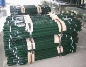1.33lb/FT Heavy Duty Green Painted Studded Tee Post/T Post pictures & photos