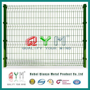 Qym-Welded Mesh Fence/ PVC Coated Fence/Garden Fence pictures & photos