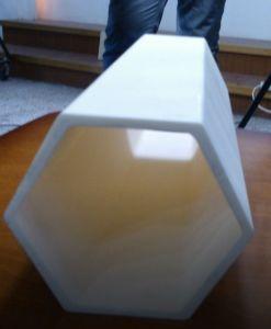 High-Precision Al2o3 Hexagonal Ceramic Tube/Pipe pictures & photos