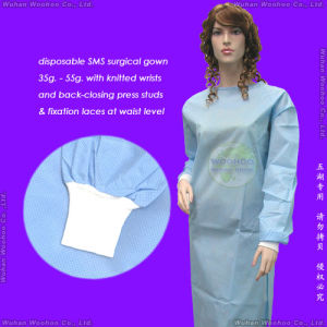 Disposable SMS Surgical Gown pictures & photos