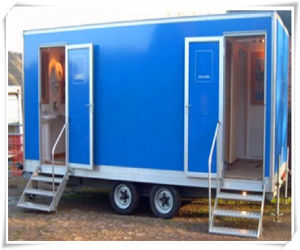 ISO Prefabricated Mobile Portable Container Toilet pictures & photos