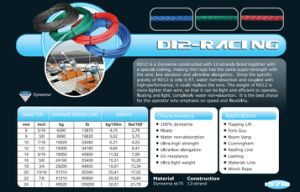 Various Sizes D12-Racing Halyad/Sheet&Control Rope for Racing/Keel Boat/Multihull pictures & photos