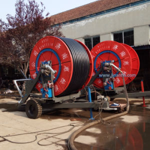 Agricultural Hose Reel Irrigator for Farm Irrigation pictures & photos