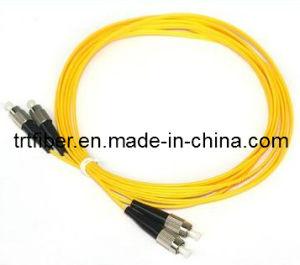 FC/UPC-FC/UPC SM DX FC Fiber Optic Patch Cord pictures & photos