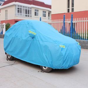 Folding Silver PEVA Sun Car Cover (gc-c002) pictures & photos