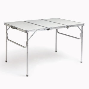Aluminum Three Fold Table/Three Folding/ Outdoor Table