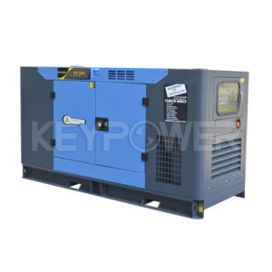 Silent Diesel Generator 25kVA Soundproof and Weatherproof Generator Diesel with Power Generator pictures & photos