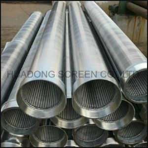 Continuous Slot Wire Wrapped Welded Water Well Screen pictures & photos