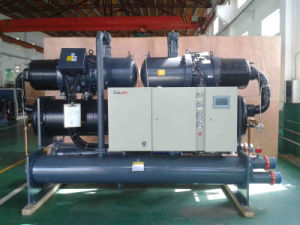 Ice Rink System Water Cooled Screw Chiller pictures & photos