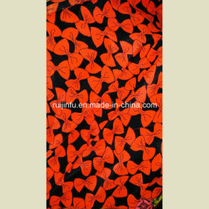 Polyster Peach Skin Stock Fabric, Fancy Fashion Design