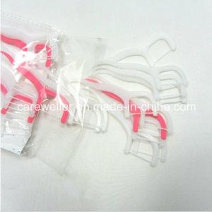 Disposable Plastic Dental Oral Floss Pick pictures & photos