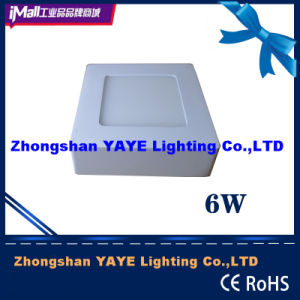 Yaye Hot Sell Surface Mounted 6W Square LED Panel Light with 2/3 Years Warranty pictures & photos