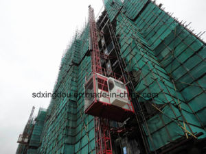 Scd200 Construction Hoist/Building Lift/Elevtor with Counter Weight pictures & photos