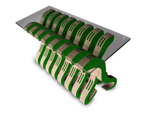 Snake Type Tea Table (DKPF130122A)