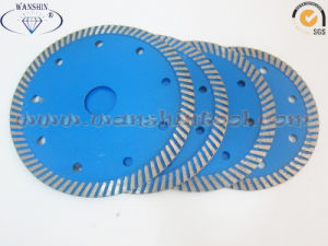 Continuous Turbo Diamond Saw Blade for Granite pictures & photos