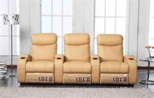 Functional VIP Home Theater Sofa Recliner (YA-607) pictures & photos
