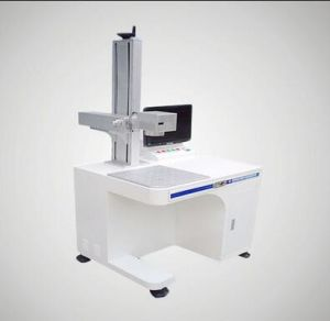 30W 50W Fiber Laser Marking Machine with Factory Price pictures & photos