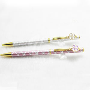 High Quality Elegant Slim Bling Bing Gift Pens pictures & photos