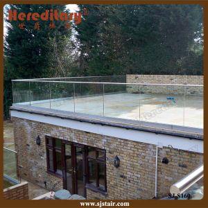 Aluminum Railing Baluster, Balustrades & Handrail, Frameless Glass Balustrade (SJ-S160) pictures & photos