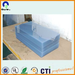 0.45mm 3*6 4*8 Clear Rigid PVC Sheet with 1PE Cover pictures & photos