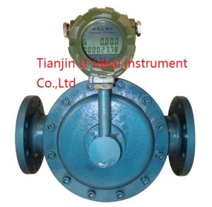 Diesel Flow Measuring Oval Gear Type Mechanical Flow Meter pictures & photos