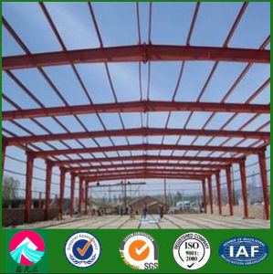 Factory Steel Structure Warehouse/Barn Drawing pictures & photos