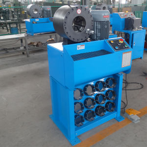 Hydraulic Hose Crimping Machine Km-91h-5 Button Type pictures & photos