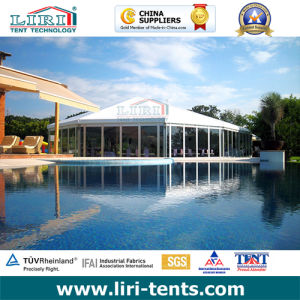 Mix Structure Tent for Wedding Party Exhibition Church and Event for Sale with Church Windows