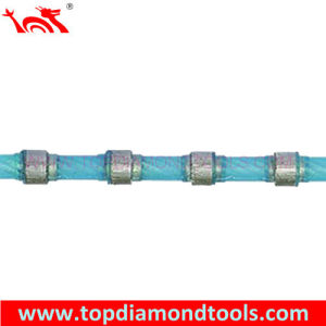 Diamond Wire Saw for Squaring Granite Blocks pictures & photos