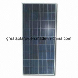 Excellent Efficiency 130W/12V Poly Solar Panel with Favorable Price Made in China pictures & photos