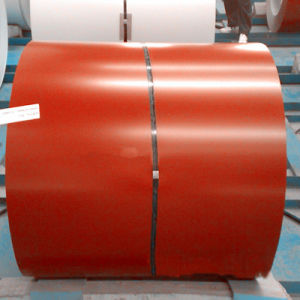 Coated Surface with Prepainted Galvanized Coil for Ral8002/PPGI Coil pictures & photos