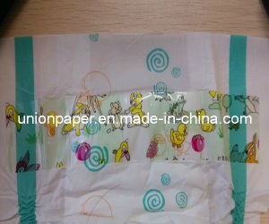 Disposable Baby Diaper with Cute Animal Frontal Tape (S/M/L/XL)
