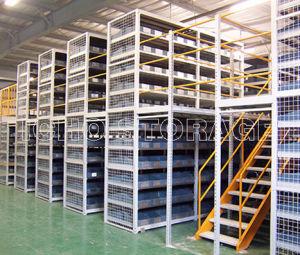 Ce Multi-Layer Warehouse Steel Storage Heavy Loading Mezzanine Rack pictures & photos