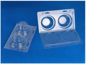 Clear Blister Packing Clamshell Box for Floor Drain PVC Blister Packing Box pictures & photos