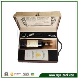 Hot Sale PU Leather Wine Set Box/Wine Box pictures & photos