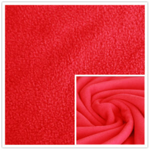 DTY 150d 288f Plain Dyed 100% Polyester Polar Fleece for Blanket, Textile, Garment. pictures & photos