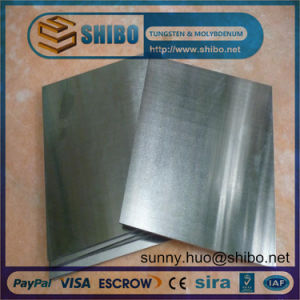 Moly Sheet/Plat for Producing Heating Elements in High Temperature Furnace pictures & photos