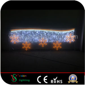 Snowflake Street Motif Lights for Christmas Decoration pictures & photos