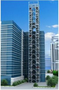 Tower Parking Vertical Lifting Parking System pictures & photos
