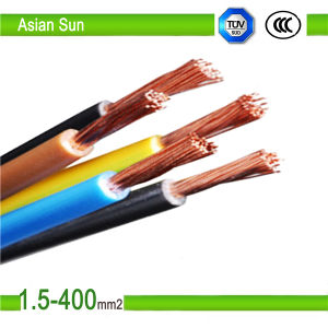 Copper Conductor PVC Insulated Electric Wire Cable Best Price pictures & photos