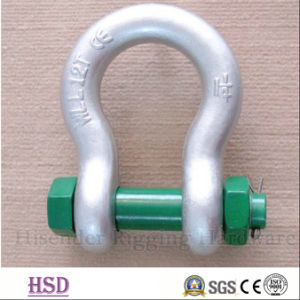 Stainless Steel304/316 European Bow Type Shackle for Hardware Lifting pictures & photos