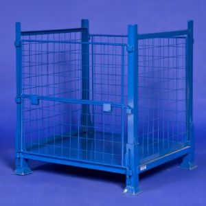 Metal Pallet Collapsible Industrial Storage Cage pictures & photos